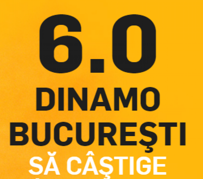 Dinamo - Poli Iasi. Cota 6.00 pentru victoria dinamovistilor!