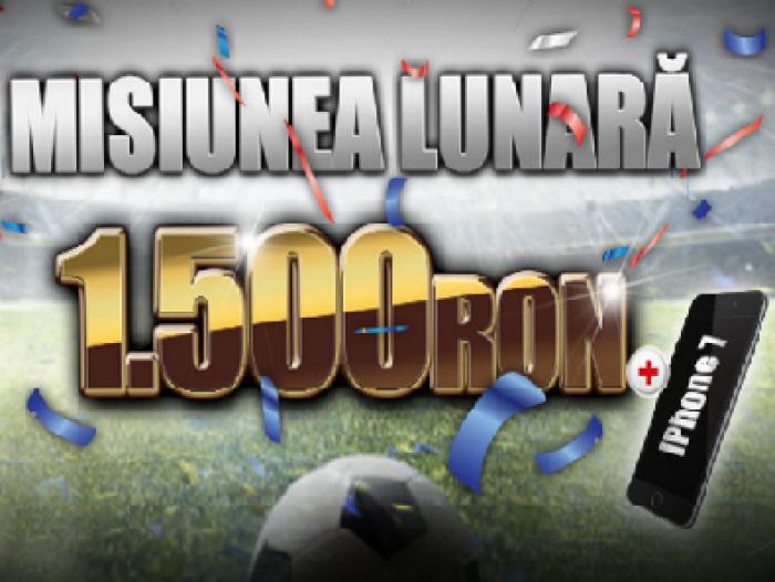 Misiunea lunara la Winmasters - Castigi pana la 1500 RON si un iPhone 7