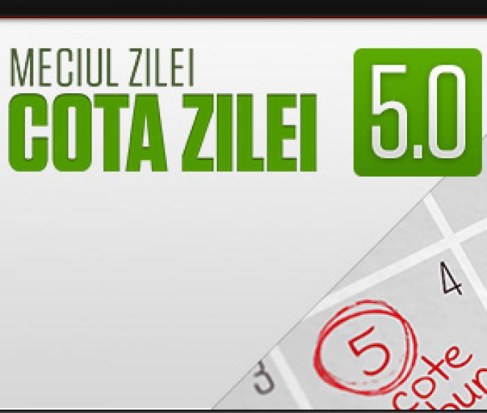 Steaua - Dinamo. Cota 5.00 pentru gazde sa inscrie