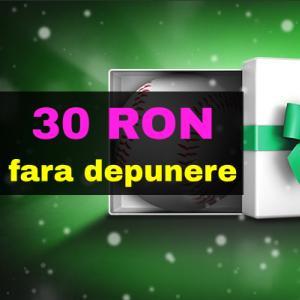 30 RON freebet pentru toata lumea - FARA DEPUNERE