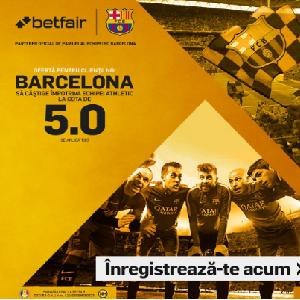 Barcelona - Bilbao. Cota 5.00 pentru 1 solist!