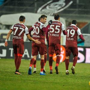 Cota 50.00 marita pentru victoria lui CFR Cluj contra Astrei pe teren propriu