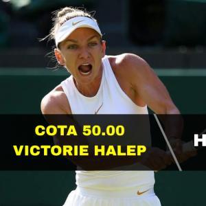 Cota 50.00 marita pentru victoria lui Halep contra Venus Williams