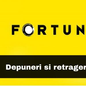 Depunere minima si retragere minima la Fortuna