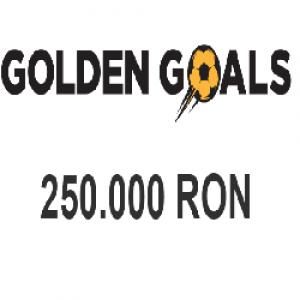 GOLDEN GOALS - Premiul cel mare este de 250.000 RON