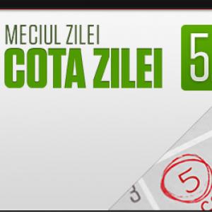 Steaua - Astra. Cota 5 zilnica (06.04.2017)