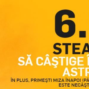 Steaua - Astra | Cota 6.00 pentru victoria Stelei