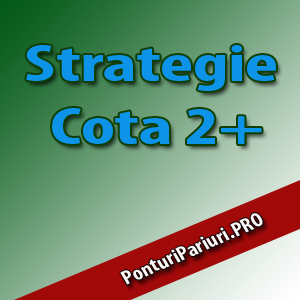 Strategii de pariere - Strategia pe cota 2+