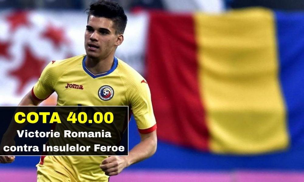 cota 40 00 pentru victorie romania contra insulelor feroe 0325012829