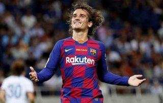 Pariul zilei 16 august 2019 Bilbao vs Barcelona, Griezmann