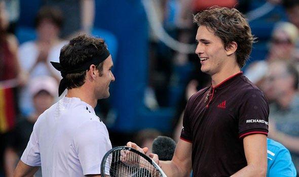 Roger Federer Alexander Zverev Miami Open 934743