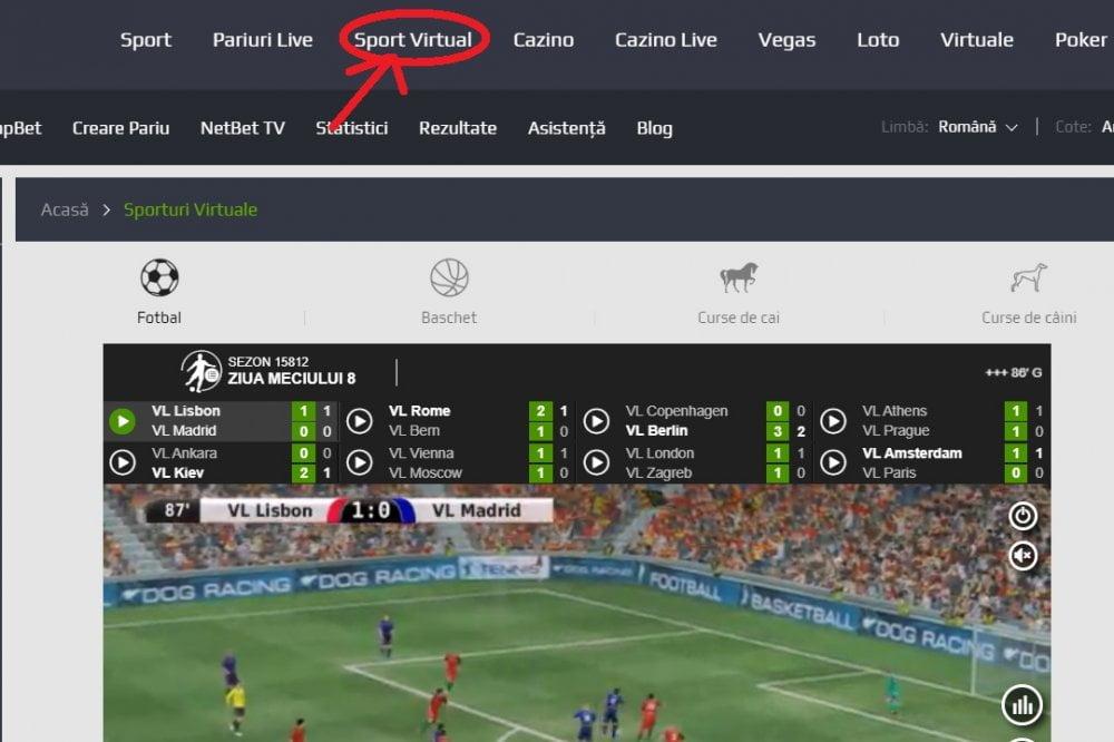 sport virtual netbet