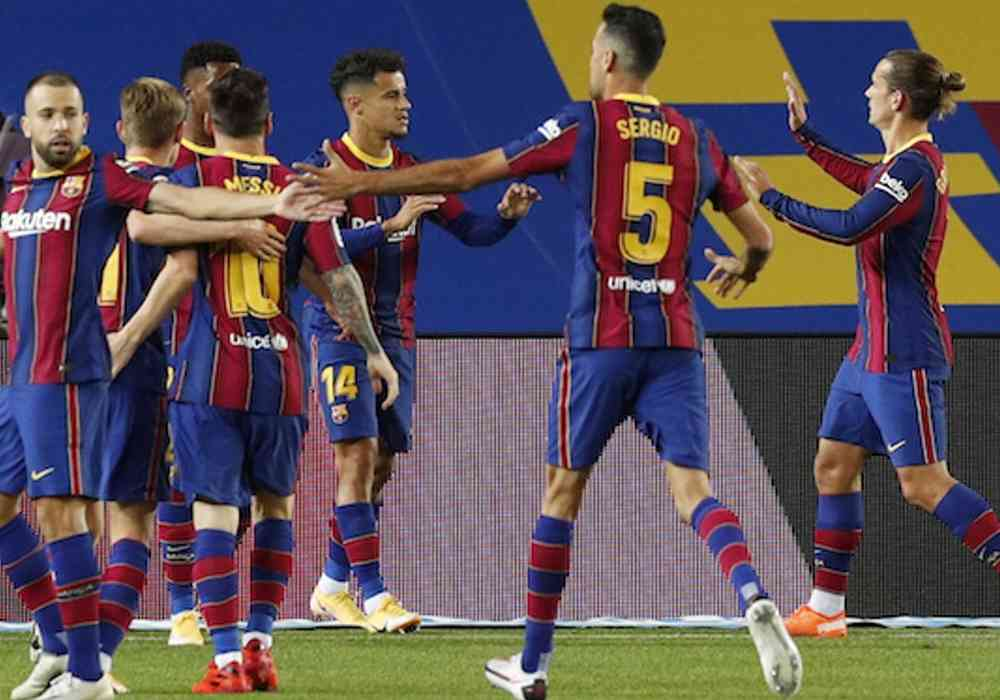 Cota marita la victorie pentru Barcelona contra Ferencvaros
