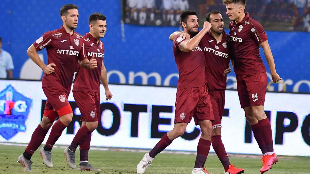 Cota marita pentru victoria CFR Cluj contra Craiova