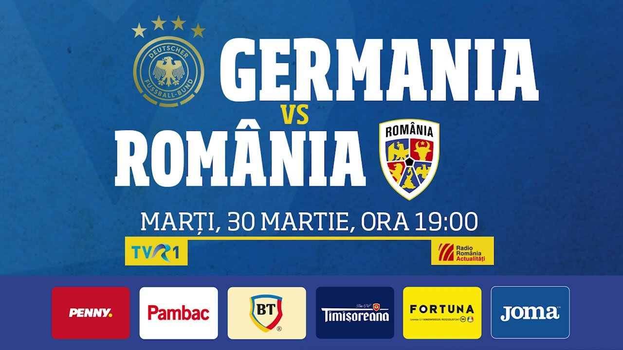 Castiga 100 RON freebet pariind la tineret pe Germania vs Romania